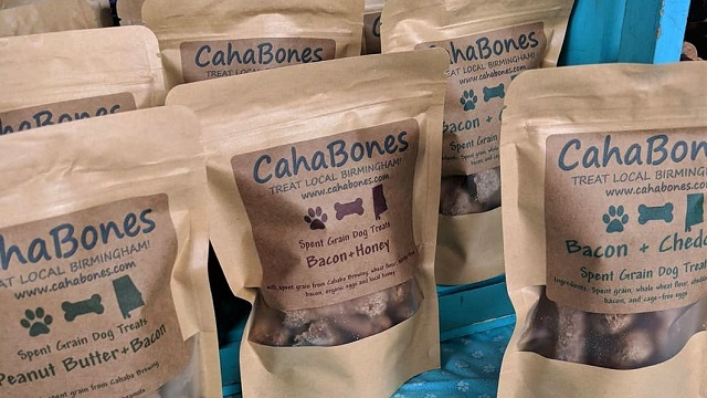 CahaBones is an Alabama Maker of treats for your four-legged friends
