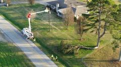 Alabama Power crews worked around the clock to restore power to those who lost it during the January 11 storms. (Jay Parker / Alabama NewsCenter)