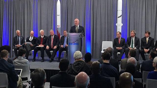 Blue Origin officially opens Alabama rocket engine factory