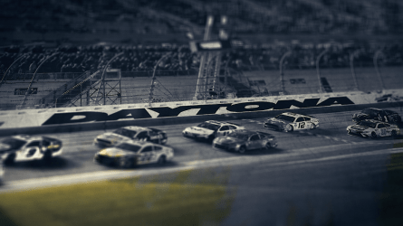 The point of BIG Communications' Super Bowl ad is simple: to remind people that the Daytona 500 is just around the corner and get them excited about it. (BIG Communications)