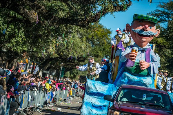 Enjoy the sights and sounds of live marching bands, floats, the throwing of beads, MoonPies and more at Mardi Gras in Mobile. (contributed)