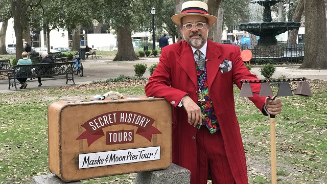Secret History Tours offer a special glimpse into Mobile history and culture