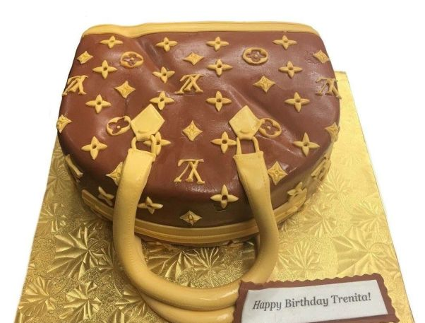 Louis Vuitton lovers will fancy this cake. (CakEffect)