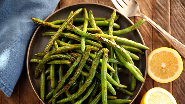 Recipe: Roasted Green Beans