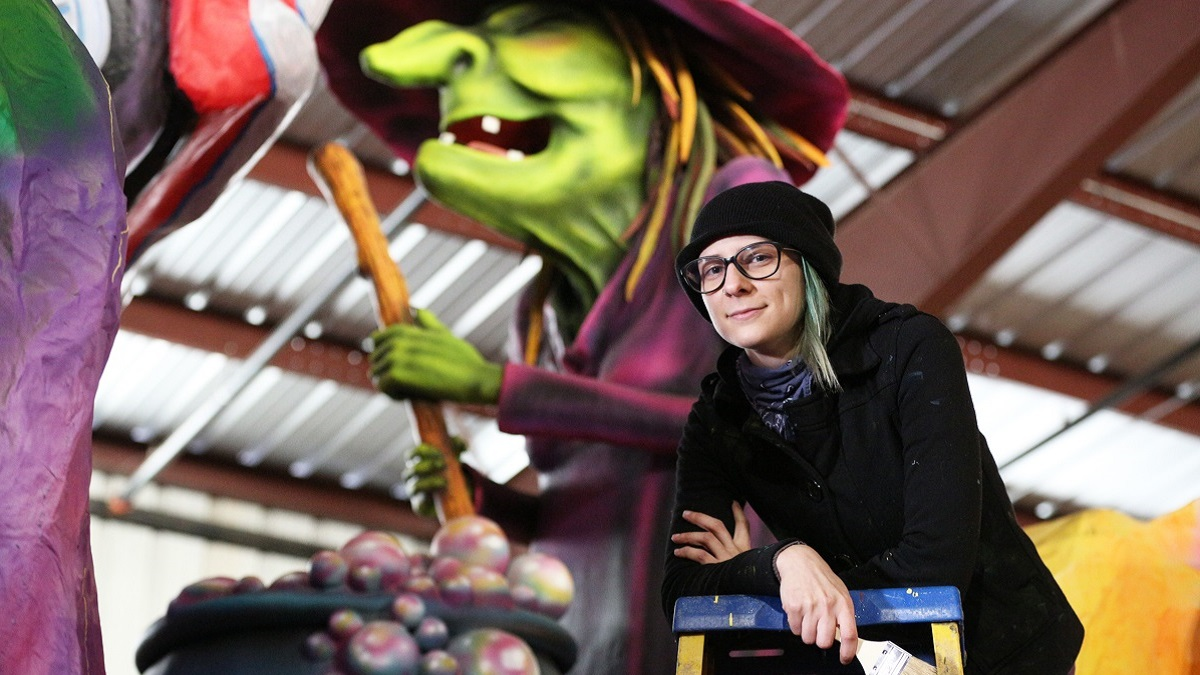 University of South Alabama graduates bring artistry to Mobile Carnival