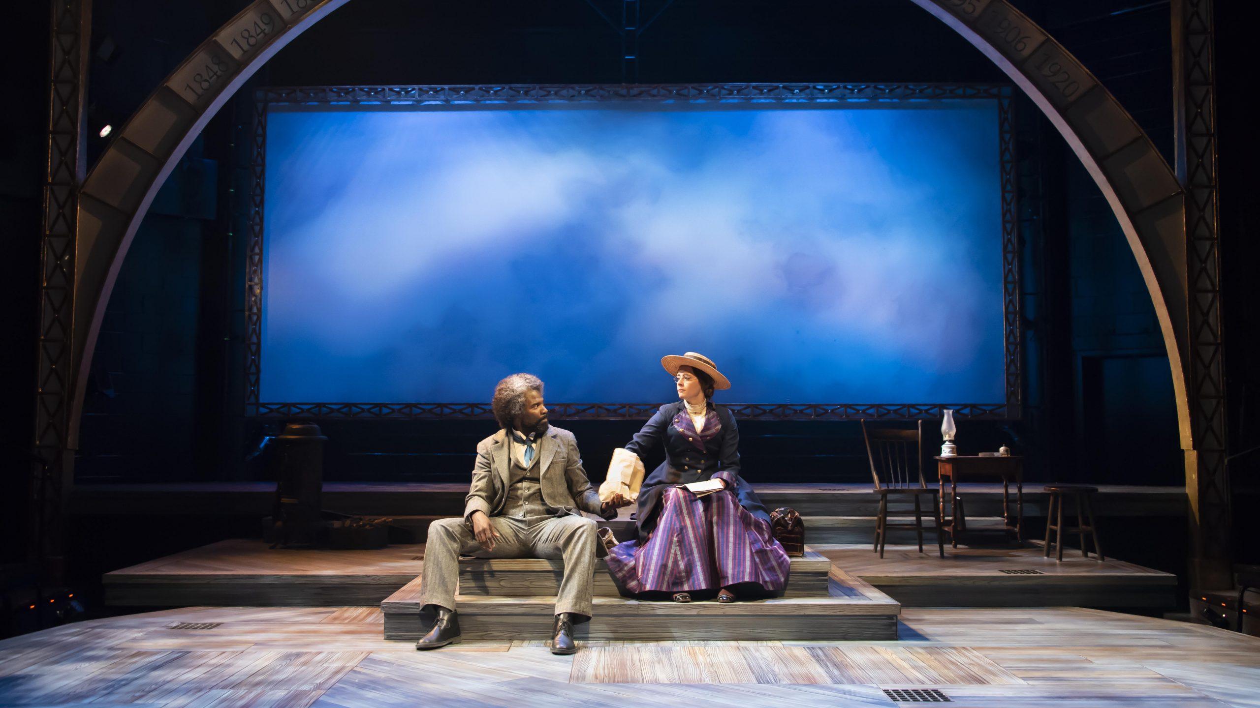 Frederick Douglass, Susan B. Anthony friendship explored in Alabama Shakespeare Festival's 'The Agitators'