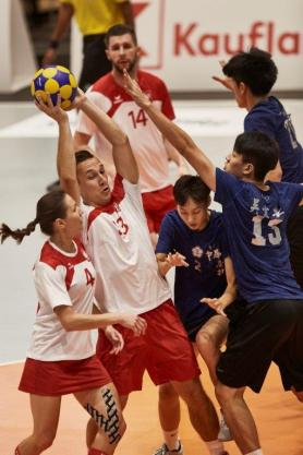 Korfball was part of the last World Games in Poland in 2017. (The World Games)