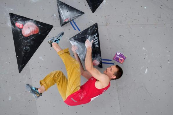 Sport climbing and bouldering were part of the last World Games in Poland in 2017. (The World Games)