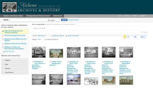 The Alabama Department of Archives and History is leading the Alabama History@Home effort. (ADAH, Alabama History@Home)