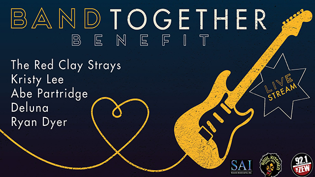 Live stream 'Band Together' concert Sunday benefits Mobile musicians affected by COVID-19
