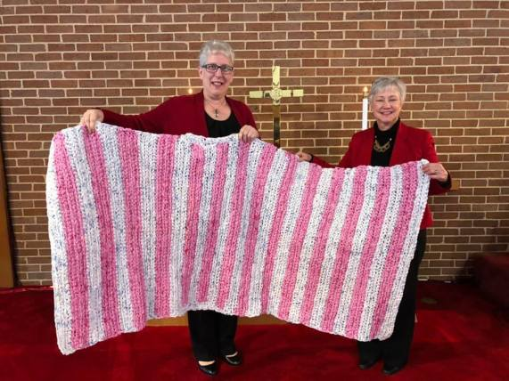 Boshell has taught several people at her church how to make the ground mats. (contributed)
