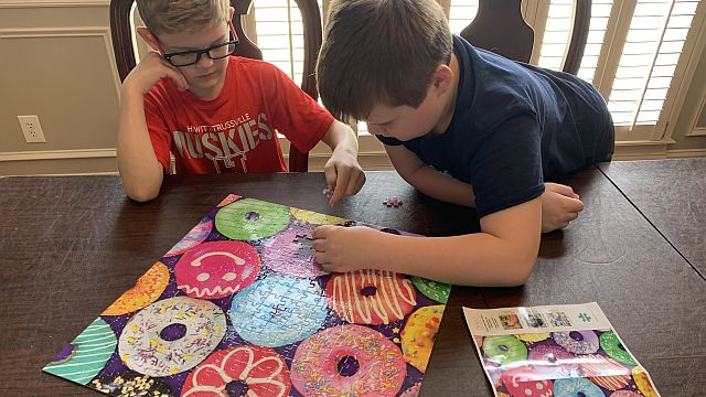 Kids bored during COVID-19 hiatus? Try these family fun ideas