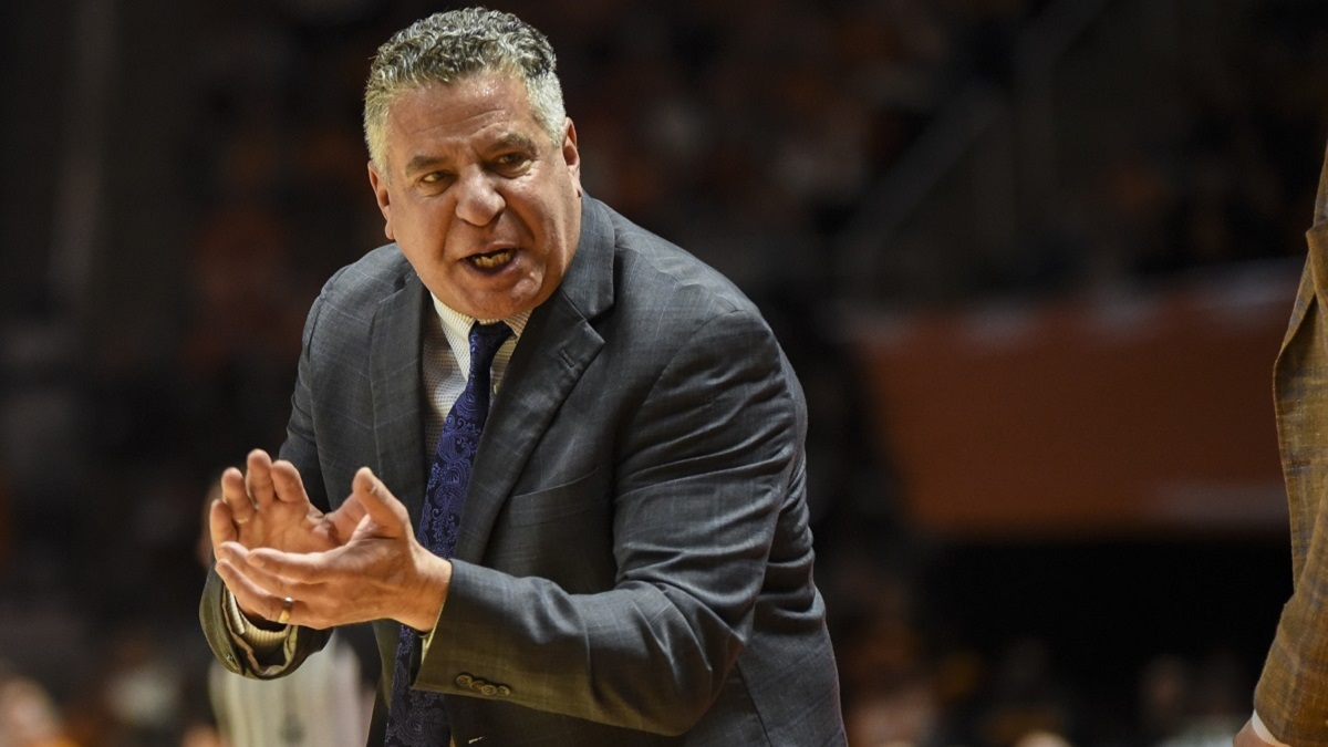 Auburn basketball coach Bruce Pearl: 'We're going to get through this together'
