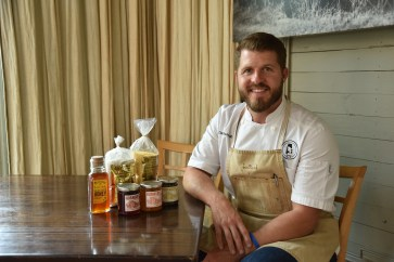 David Bancroft, executive chef and partner, Acre, Bow & Arrow. (Sweet Grown Alabama)