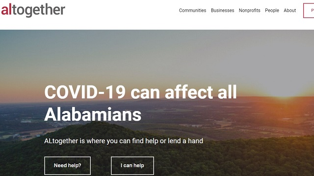 Alabama Gov. Kay Ivey launches ALtogether as guide to COVID-19 relief efforts