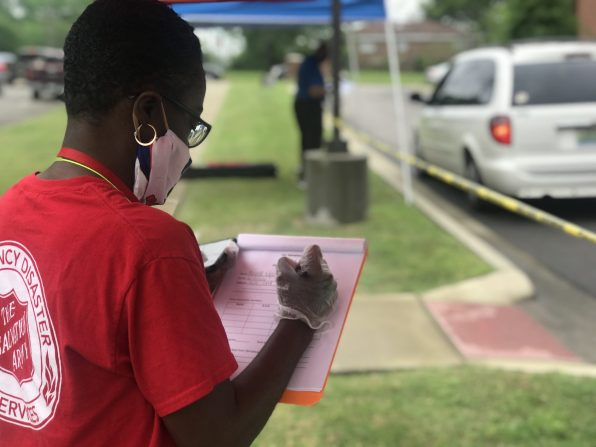 Salvation Army shelters are operating around the clock, continuing to provide the same services as prior to the quarantine. (Image courtesy of the Salvation Army)