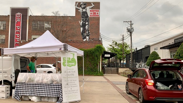 Pepper Place Drive-Thru Farmers Market a success, others look to emulate
