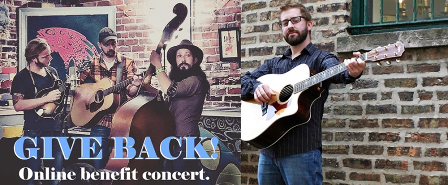 "Enjoy the ""Give Back! Online Benefit Concert"" with Aaron Dorfman and Hobnob String Band for a live music experience May 8. (contributed)"