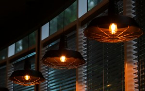 Lighting in the building should be regulated. Turn off interior and exterior lighting except in areas needed for security. (Getty Images)