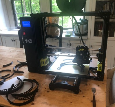 3D printer used by Altamont School students. (Image courtesy of Altamont School)