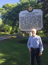 The author, Michael P. Rucker, at the Battle of Nashville site. (Image courtesy of Mike Rucker)