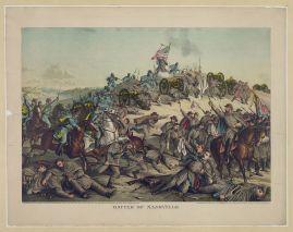 Battle of Nashville, c. 1891. (Kurz & Allison, Library of Congress, Prints and Photographs Division)
