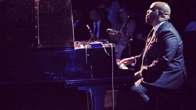 Kenneth Rembert plays virtual jam sessions on the keys
