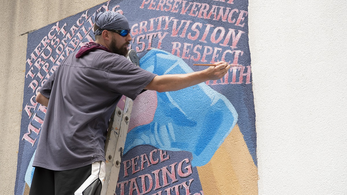 Alabama artists creating mural of unity during COVID-19 and protests