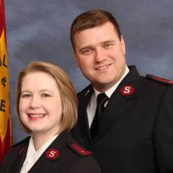 Captains Sheri and Trey Jones are the new leaders of the Salvation Army Coastal Alabama Area Command. (contributed)