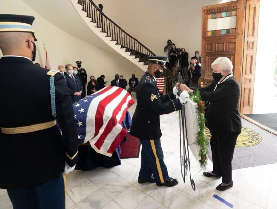 Alabama native and former Georgia U.S. Rep. John Lewis was honored with memorial services in Selma and Montgomery. (contributed)
