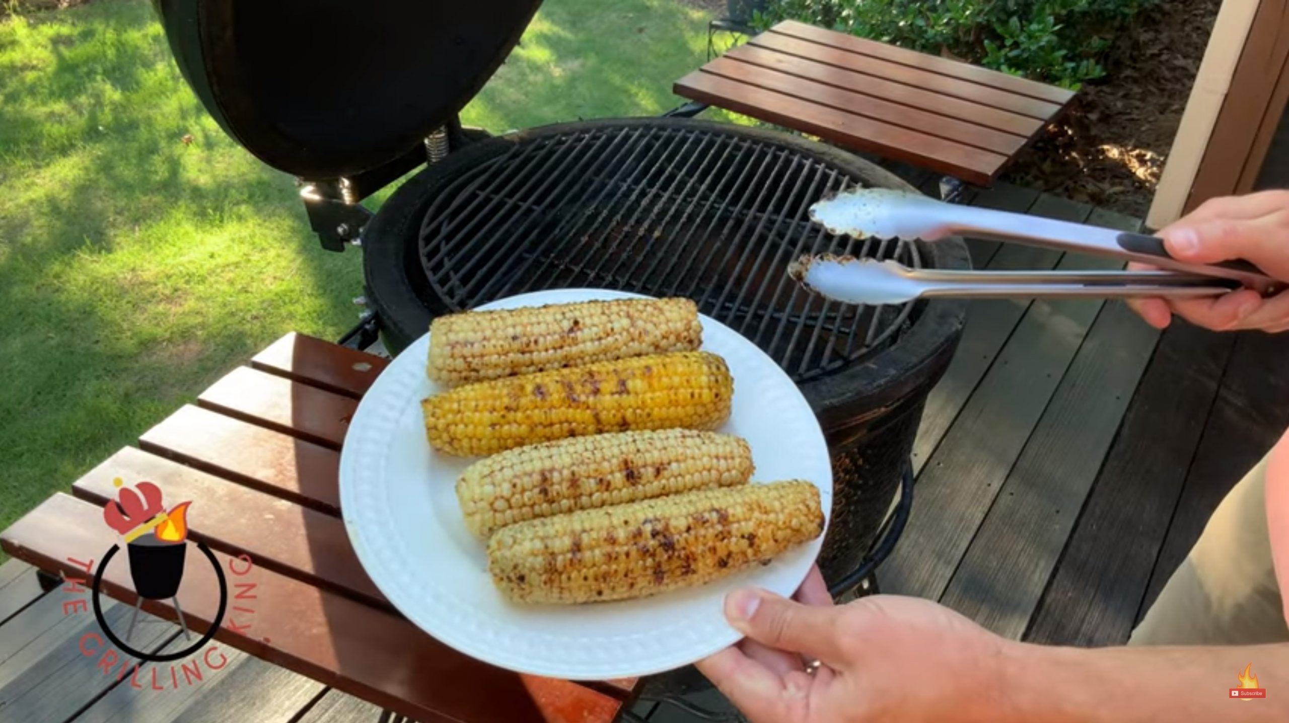 The Grilling King: Kickin' Grilled Corn