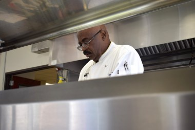Chef Clayton Sherrod is working with Lawson State Community College and the Birmingham Housing Authority to teach others cooking and food service. (contributed)