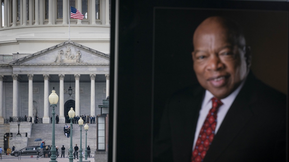 Alabama's John Lewis honored with bipartisan tribute at U.S. Capitol