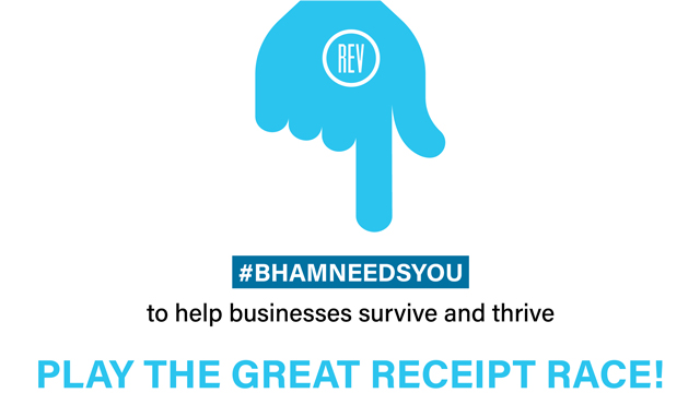 REV Birmingham launches Great Receipt Race to incentivize shopping local
