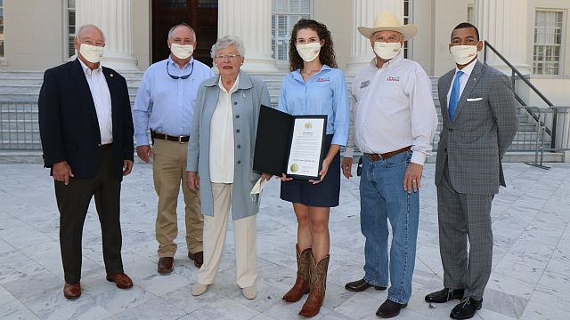Farmers Market Signifies July 22 As Sweet Grown Alabama Day Alabama Newscenter