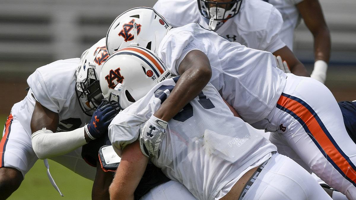 Auburn coach Gus Malzahn wants physical practices leading up to season