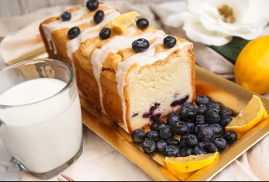 Emily's Lemon Blueberry Pound Cake. (Emily's Heirloom Pound Cakes)