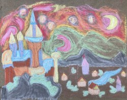 Runner-up for Best Children's Work was Harper Hendrix, inspired by Vincent van Gogh. (contributed)