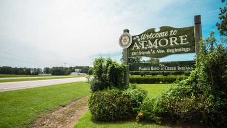 Muskogee Technology relocated to Atmore in 1993. (Dennis Washington/Alabama NewsCenter)
