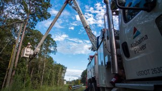 Alabama Power Hurricane Sally restoration update at midday Friday