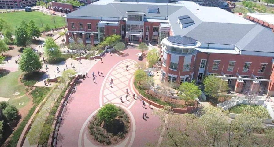 Auburn University's new student center is named in honor of Georgia Supreme Court Chief Justice Harold D. Melton, an Auburn alumnus. In the 1980s, Melton was the first Black student to be elected president of Auburn's Student Government Association. (Auburn University)