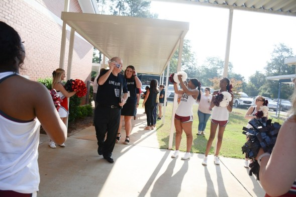 A bus tour was part of the 2019 campaign for the Wiregrass United Way. (contributed)