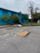 Hurricane Sally damaged buildings at Dauphin Island Sea Lab. (contributed)