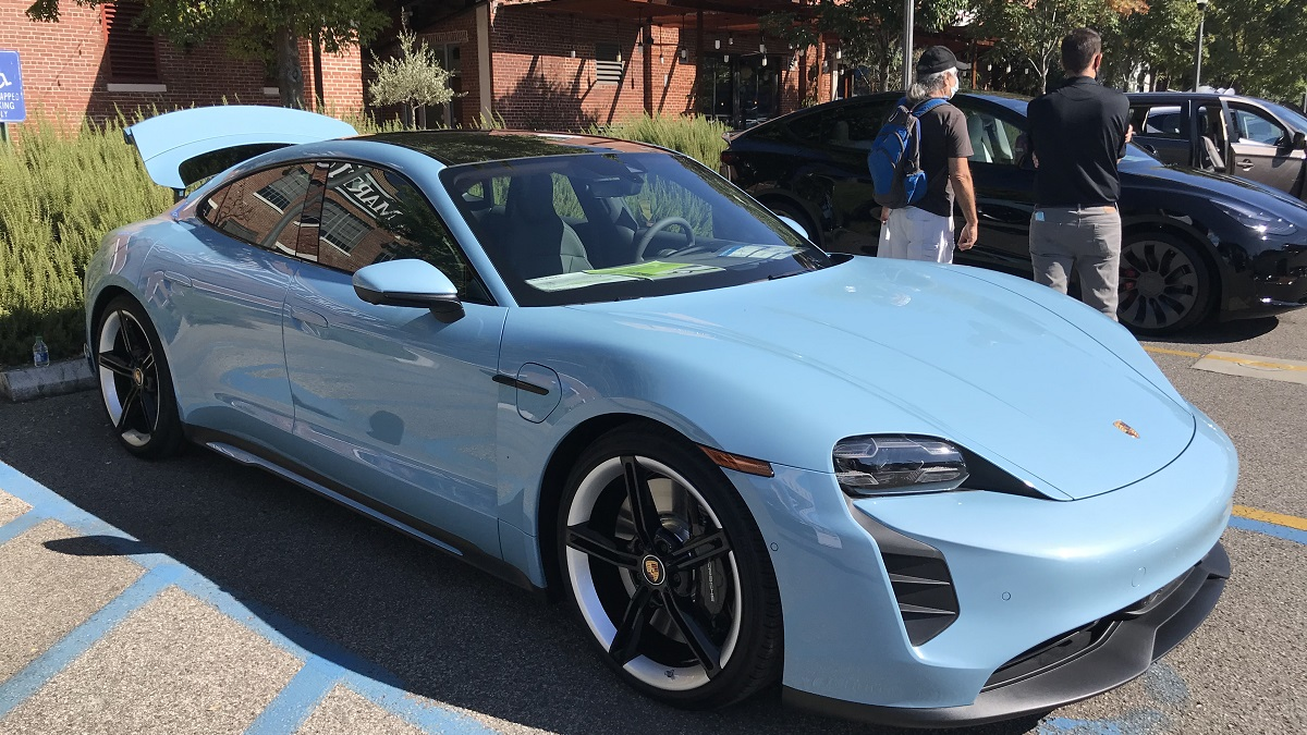Pepper Place visitors explore world of electric vehicles at Alabama event
