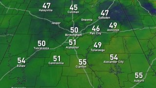James Spann: Big warm-up for Alabama today; much cooler Friday