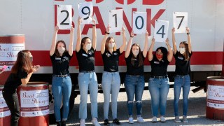 University of Alabama wins Beat Auburn Beat Hunger food drive for fourth straight year