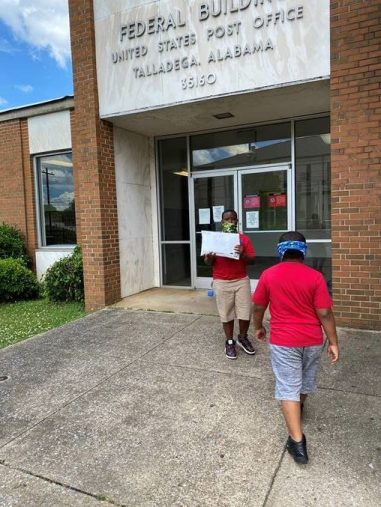Jayden Patterson, a student and Community Service League representative at Stemley Road Elementary School in Talladega, this year added entrepreneur to his resume. (contributed)