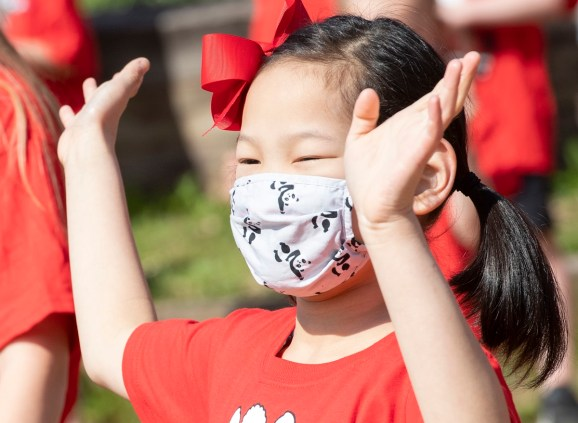 Children participate in a HEAL activity. The program seeks to establish habits among elementary-school-aged children that will set them up for healthy lives. (contributed)