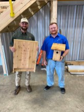 The boxes are designed to give bats and bluebirds a more stable environment in which to thrive and develop their population. (Whitney Corgill / Alabama Power)