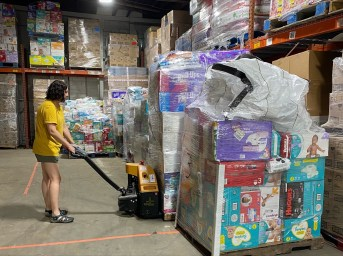 Bundles of Hope has distributed more than 3 million diapers to families in Alabama since 2015 and is on track to distribute more than 1 million in 2021. (contribution)